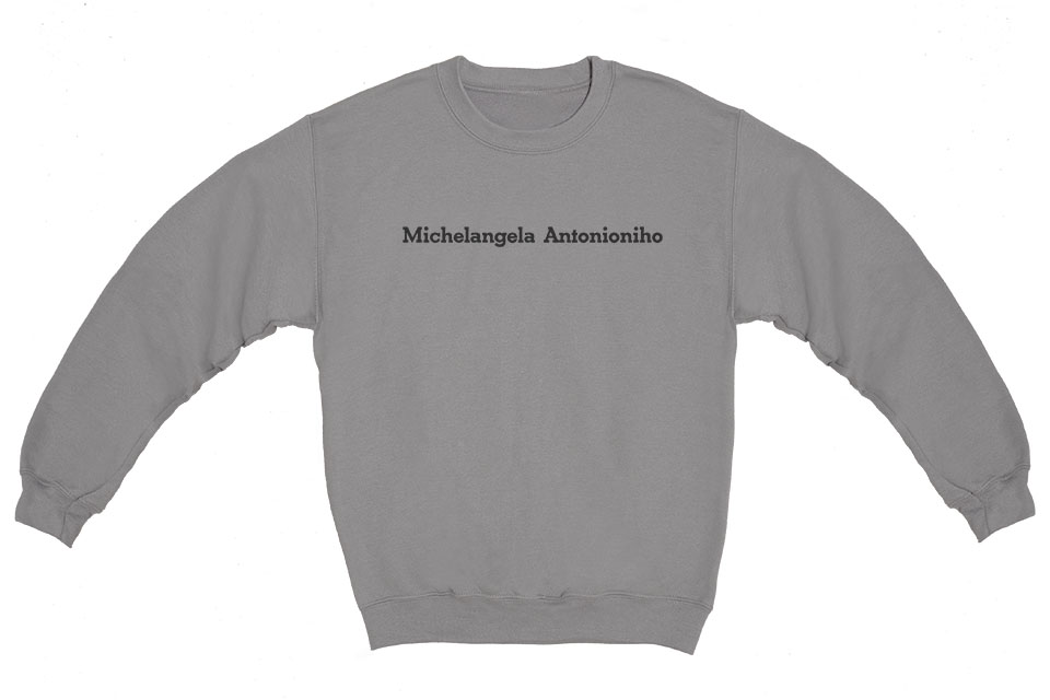Michelangelo Antonioni Crewneck Sweatshirt