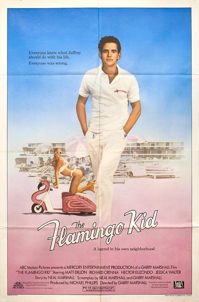 The Flamingo Kid 1984 U.S. One Sheet Poster