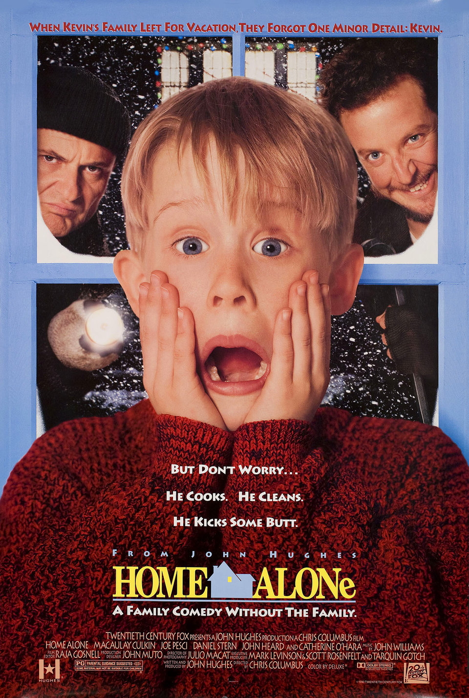 Home Alone 1990 U.S. One Sheet Poster
