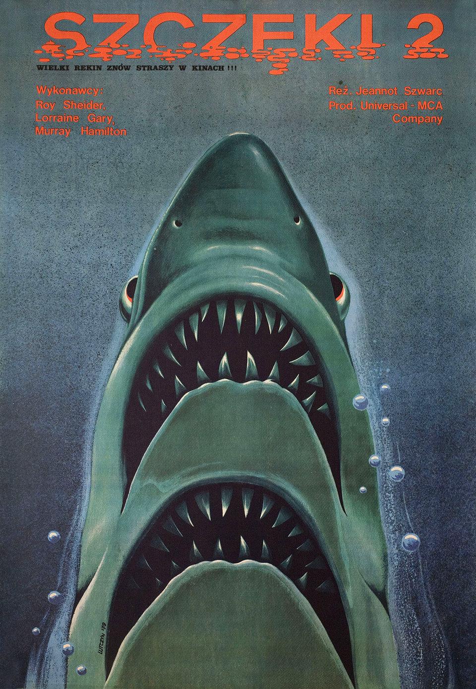 Jaws 2 1979 Polish B1 Poster