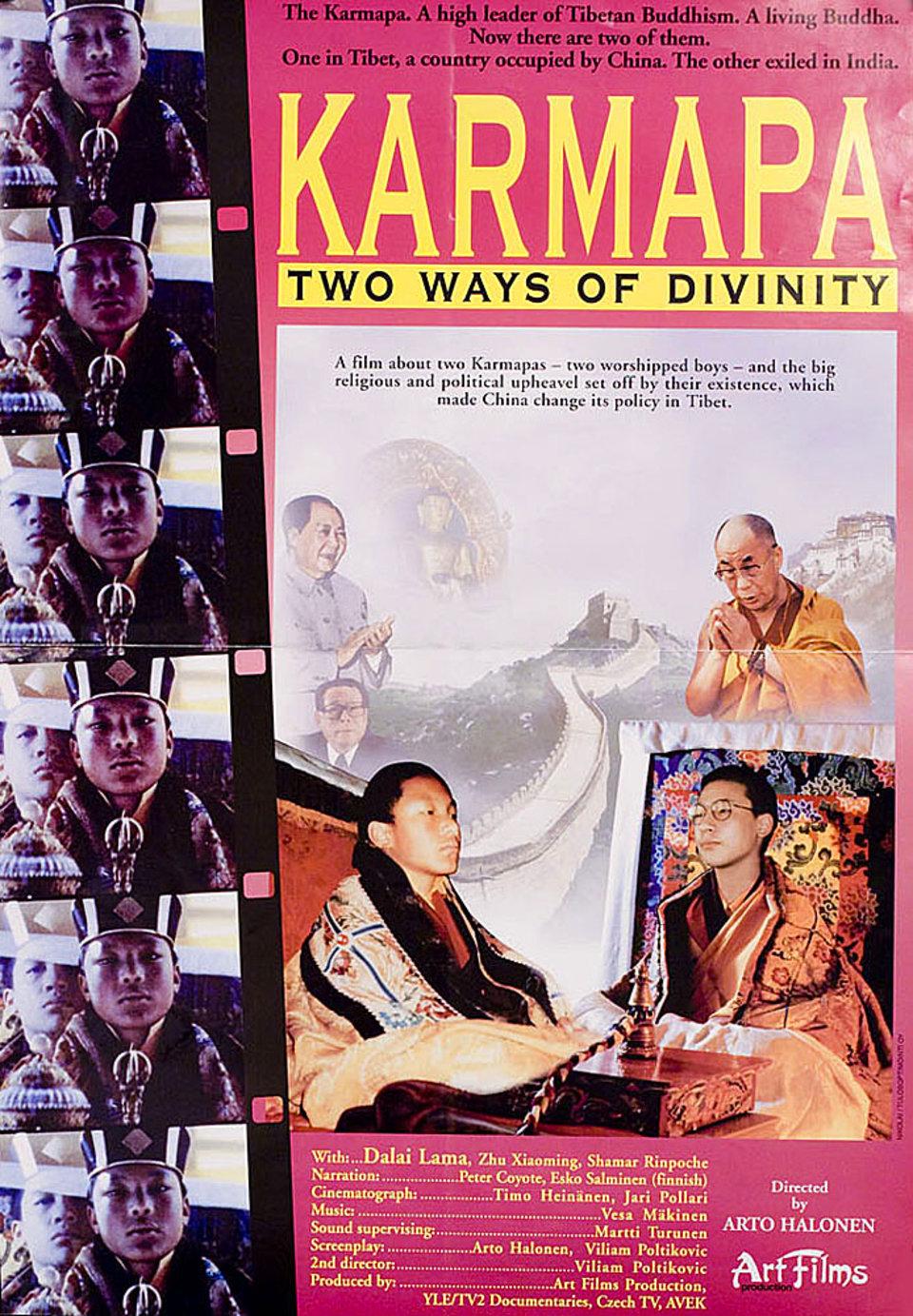 Karmapa - Two Ways of Divinity 1998 U.S. Mini Poster