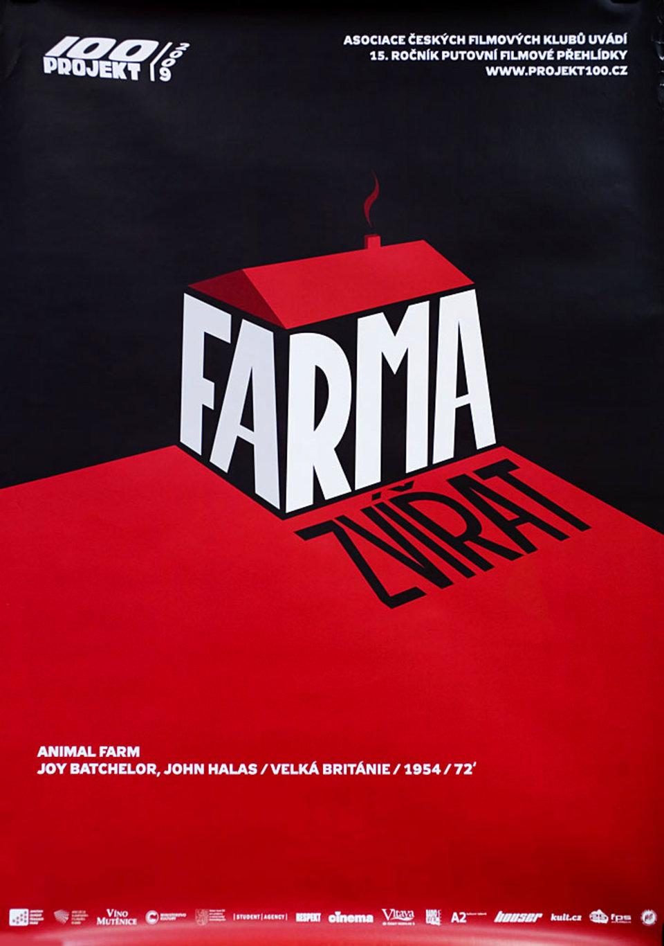 Animal Farm R2009 Czech A1 Poster
