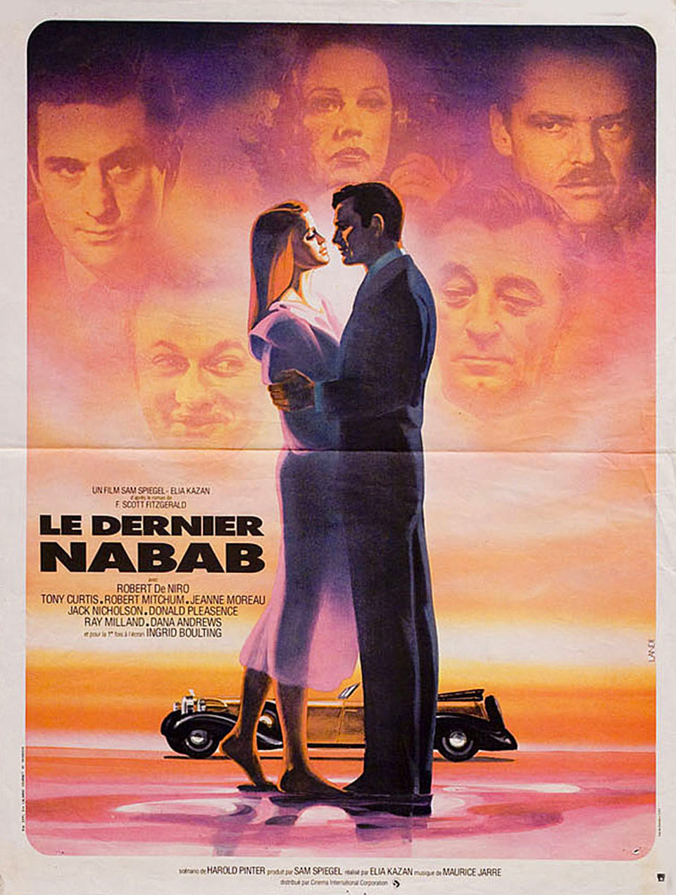 The Last Tycoon 1976 French Petite Poster