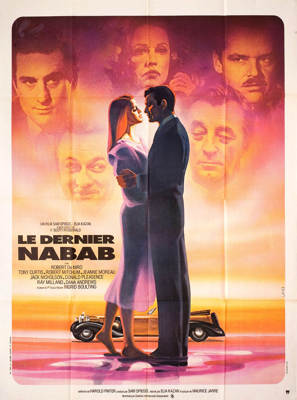 The Last Tycoon 1976 French Grande Poster