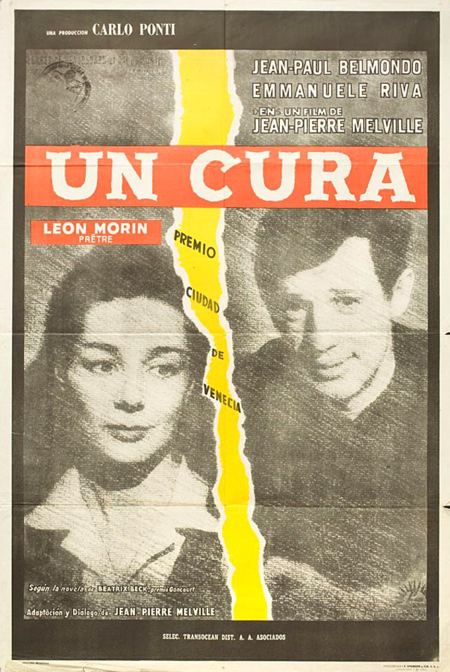 Leon Morin, Priest 1961 Argentine Poster