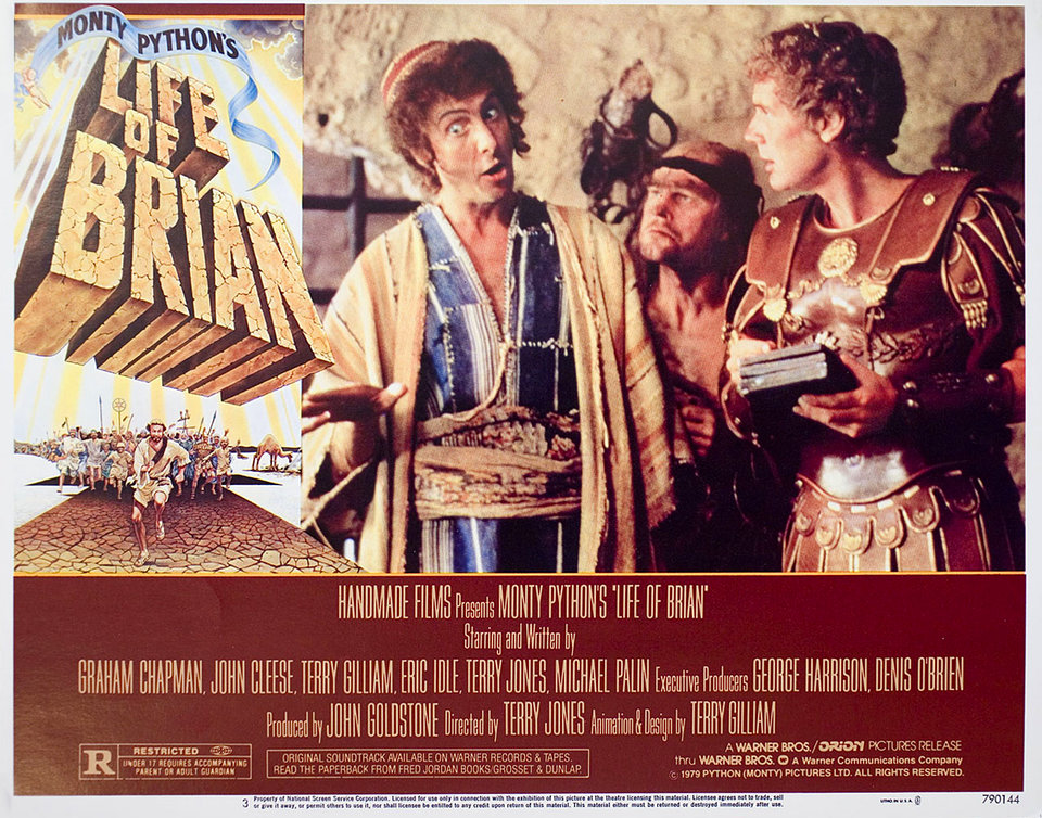 Life of Brian 1979 U.S. Scene Card