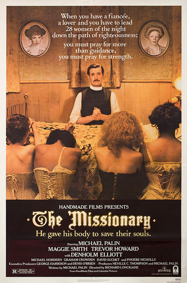 The Missionary 1982 U.S. One Sheet Poster