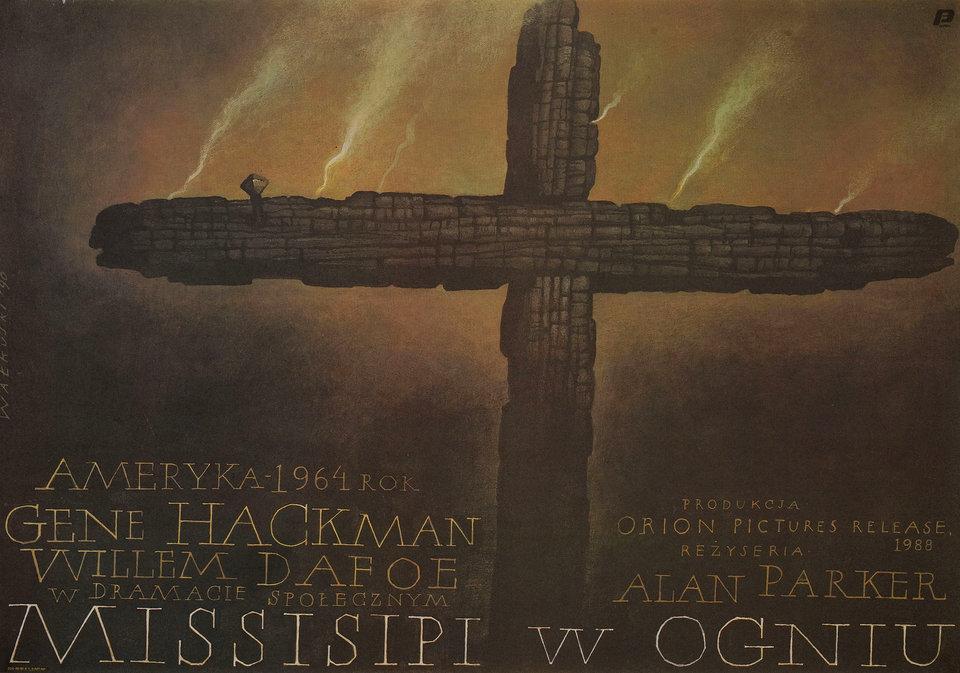 Mississippi Burning 1990 Polish B1 Poster
