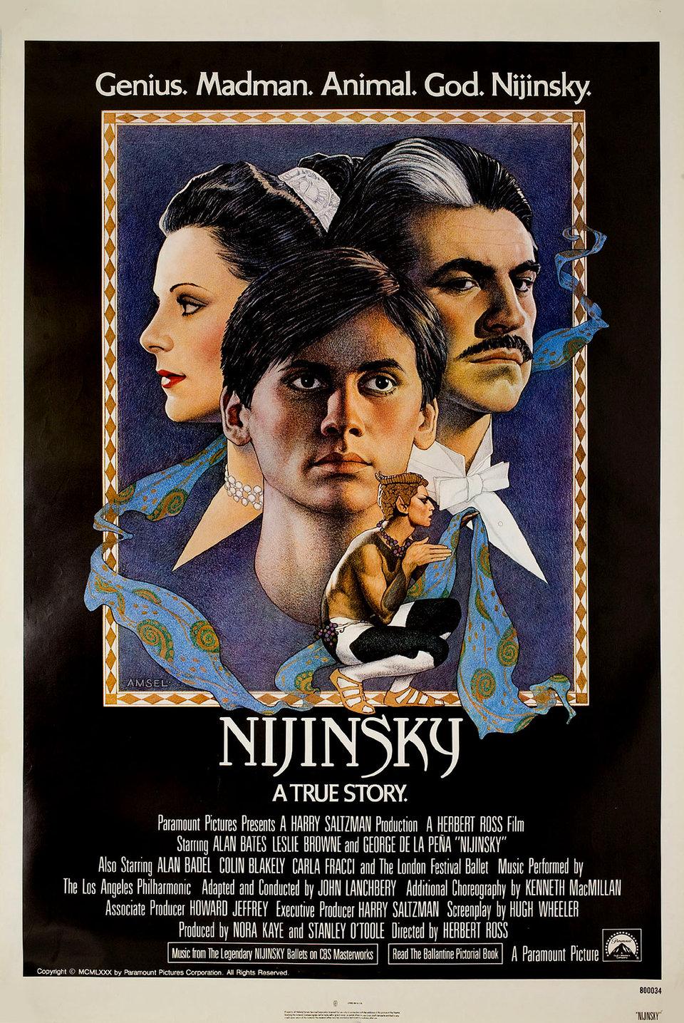 Nijinsky 1980 U.S. One Sheet Poster