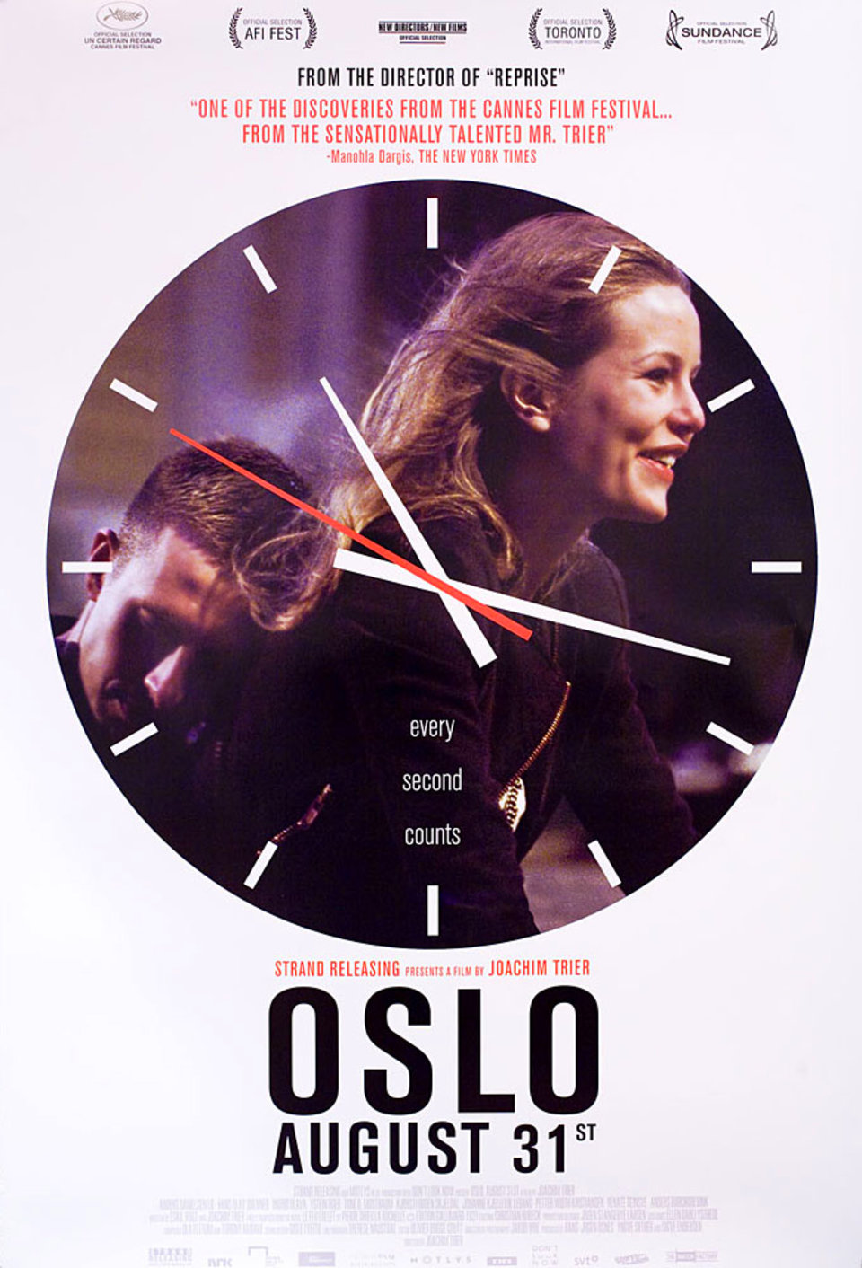 Oslo, August 31st 2011 U.S. One Sheet Poster