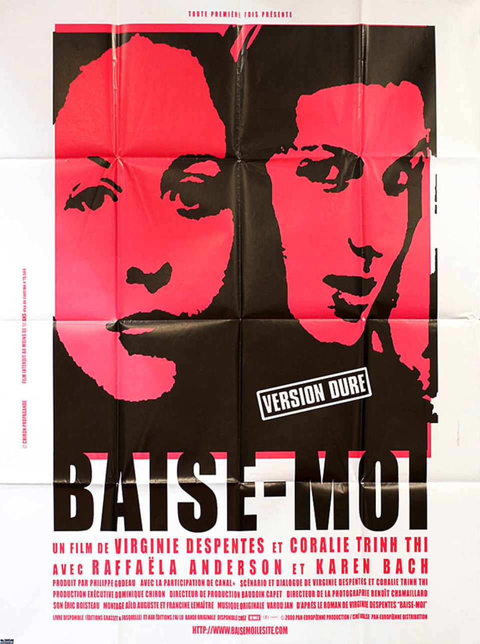 Baise-moi 2000 French Grande Poster
