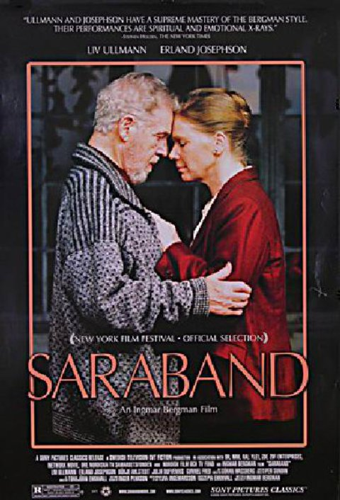 Saraband 2005 U.S. One Sheet Poster