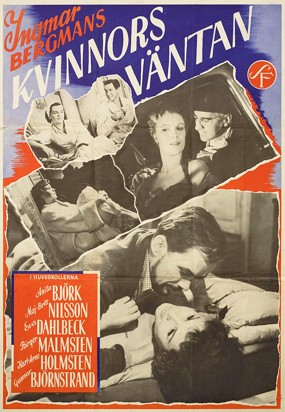Secrets of Women R1954 Swedish B1 Poster