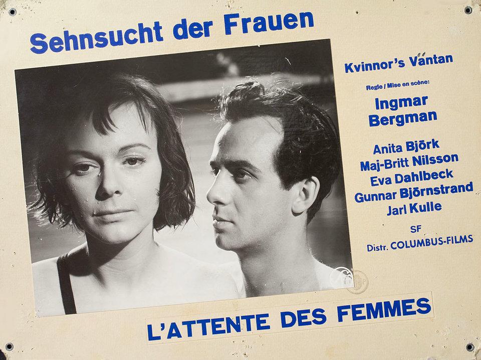 Secrets of Women 1962 Swiss Scene Card