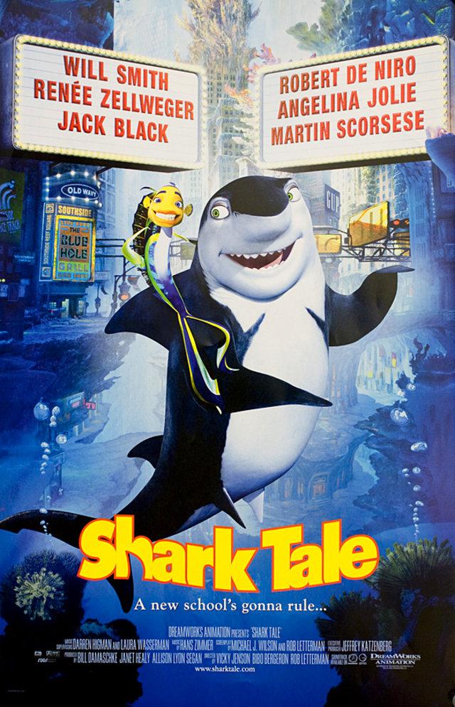 Shark Tale 2004 U.S. Mini Poster