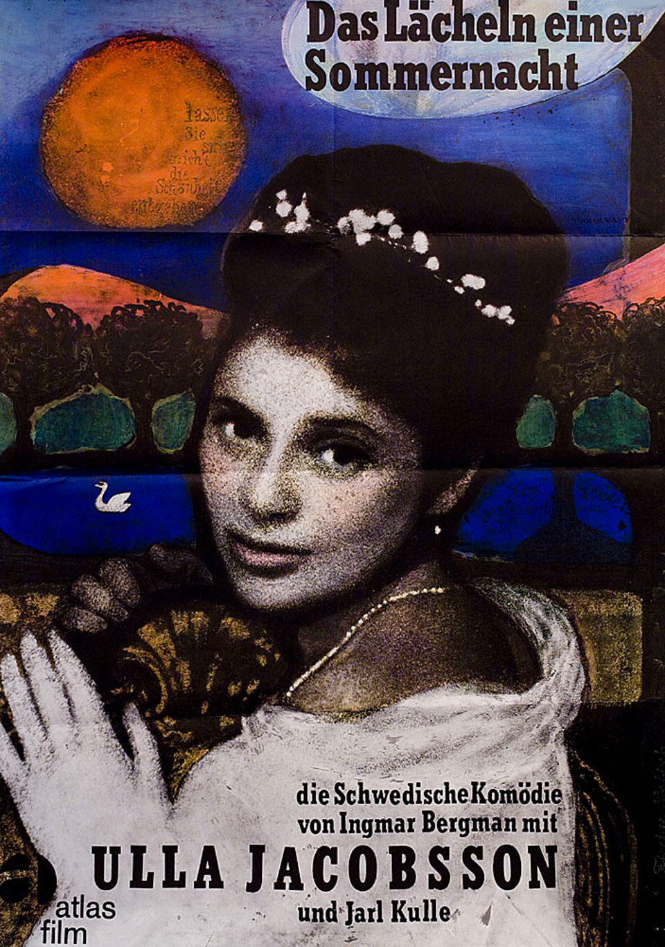 Smiles of a Summer Night R1964 German A1 Poster