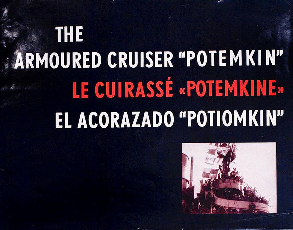 Battleship Potemkin 1950 Russian Program