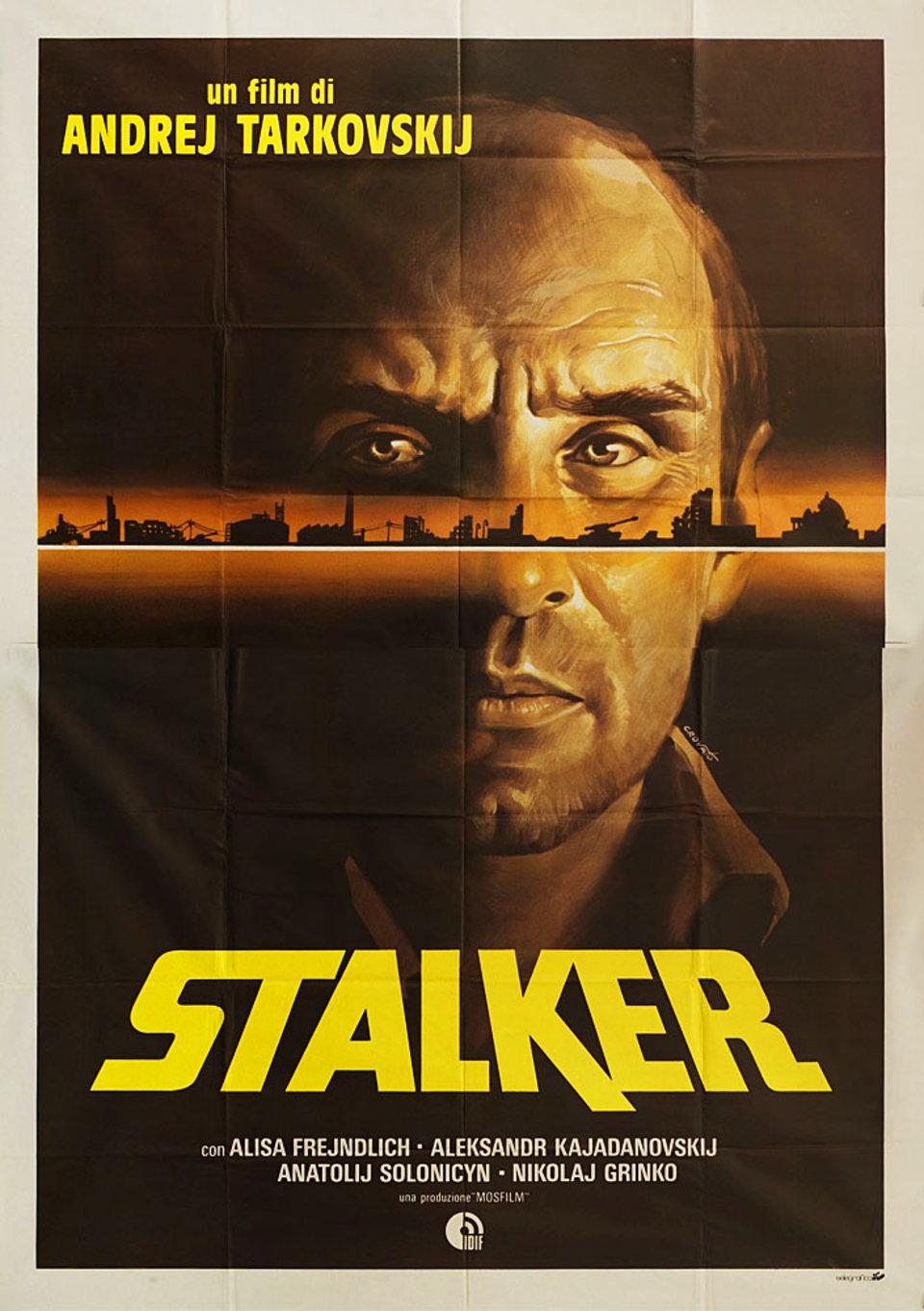 Stalker 1981 Italian Quattro Fogli Poster