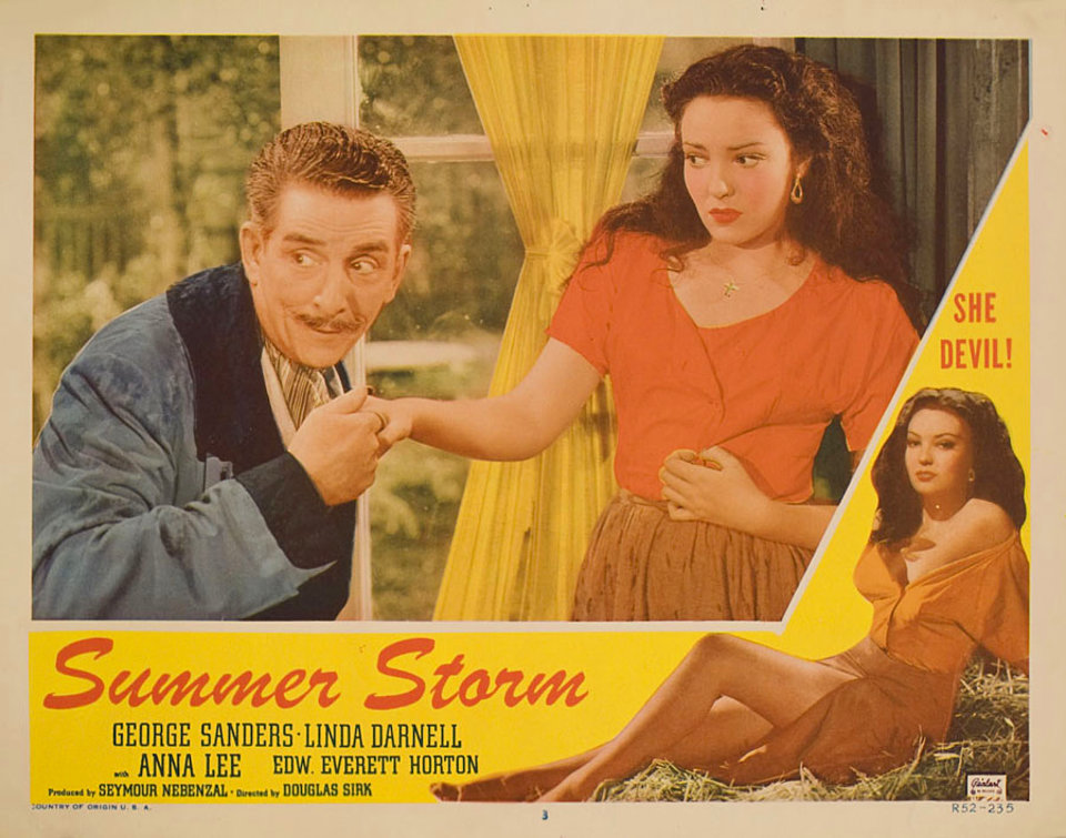 Summer Storm R1952 U.S. Scene Card