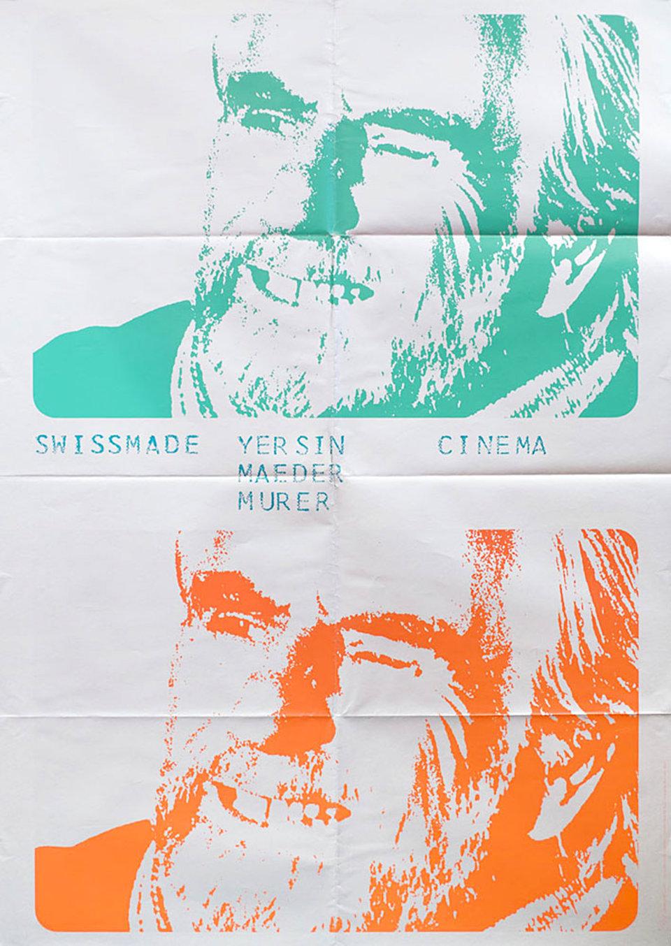 Swiss Made 1968 Swiss C0 Poster