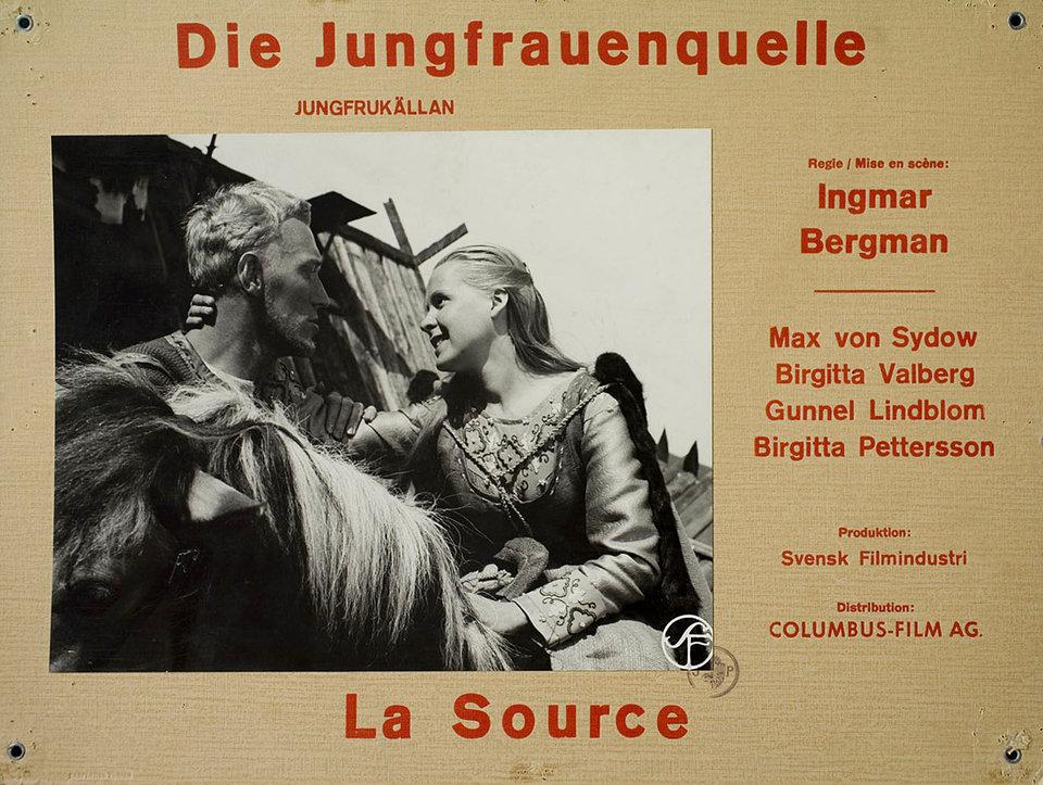 The Virgin Spring 1960 Swiss Scene Card