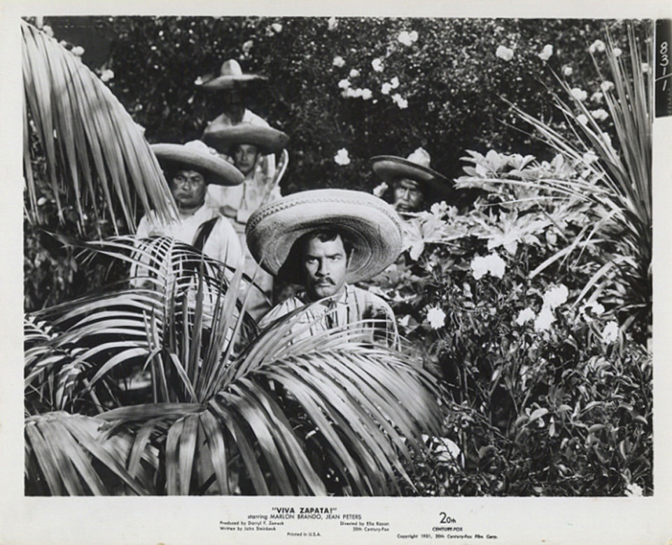 Viva Zapata! 1952 U.S. Silver Gelatin Single-Weight Photo