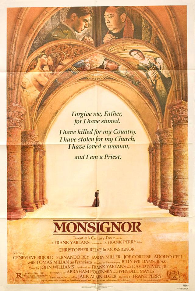 Monsignor 1982 U.S. One Sheet Poster