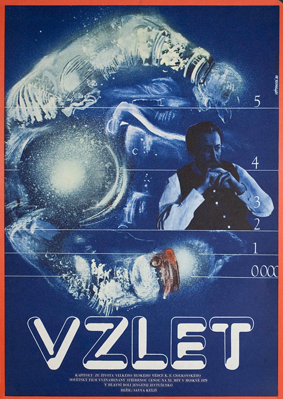 Vzlyot 1980 Czech A3 Poster