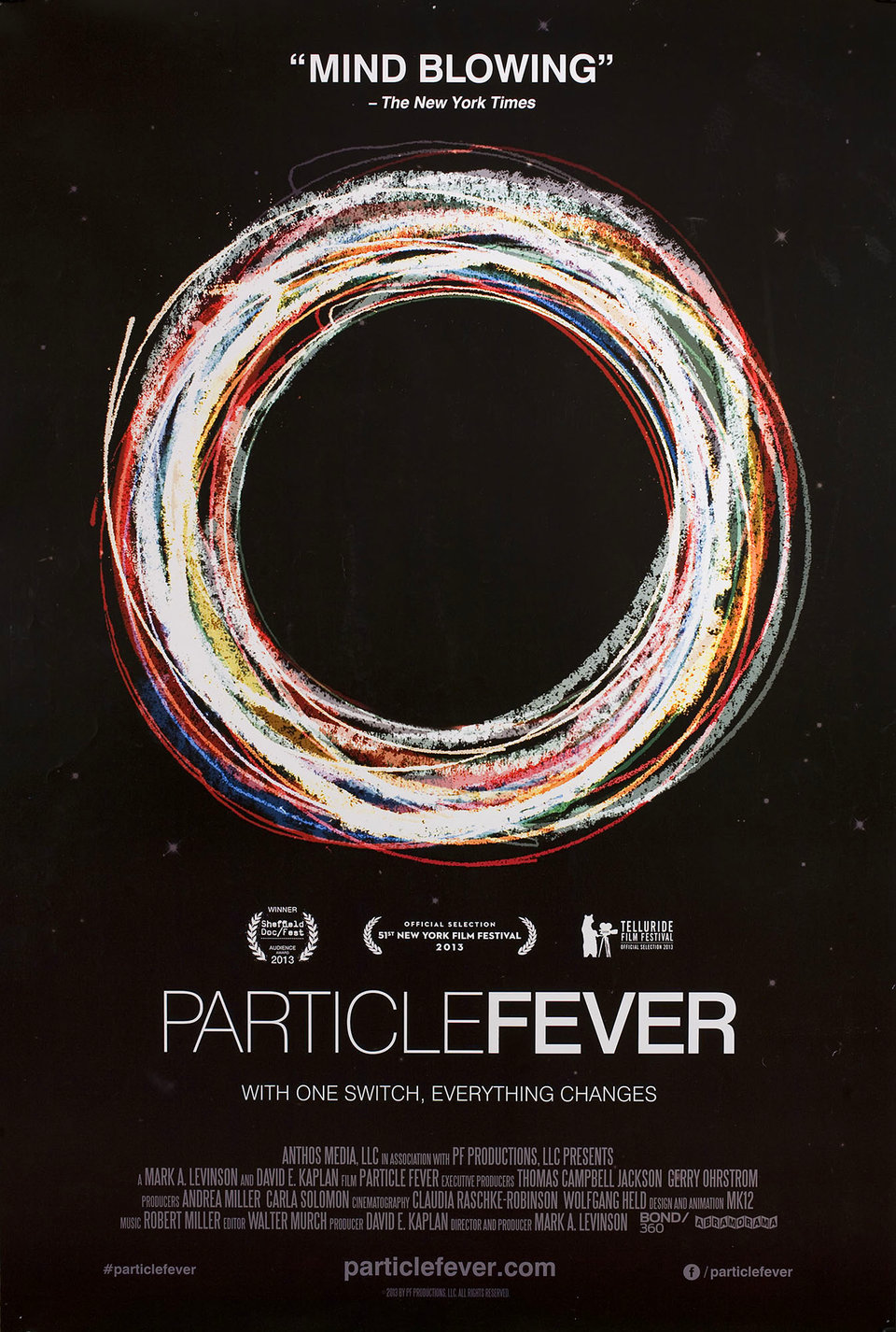 Particle Fever 2013 U.S. One Sheet Poster