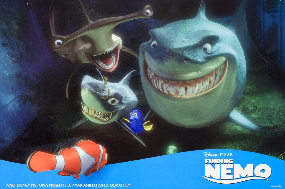 Finding Nemo 2003 U.S. Scene Card