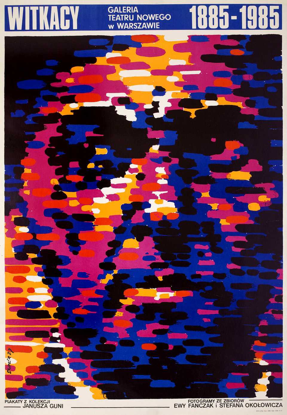 Witkacy 1985 Polish B1 Poster