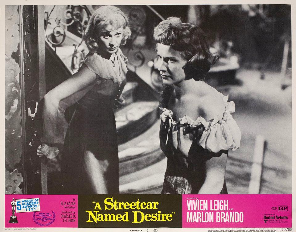 A Streetcar Named Desire R1970 U.S. Scene Card