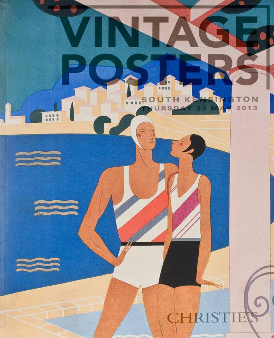 Christie's London, Vintage Posters 2013 U.S. Catalog