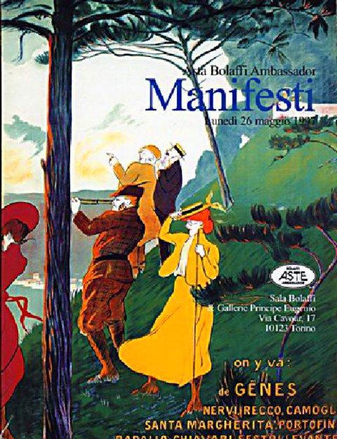 Asta Bolaffi Ambassador: Manifesti 1997 Italian Catalog