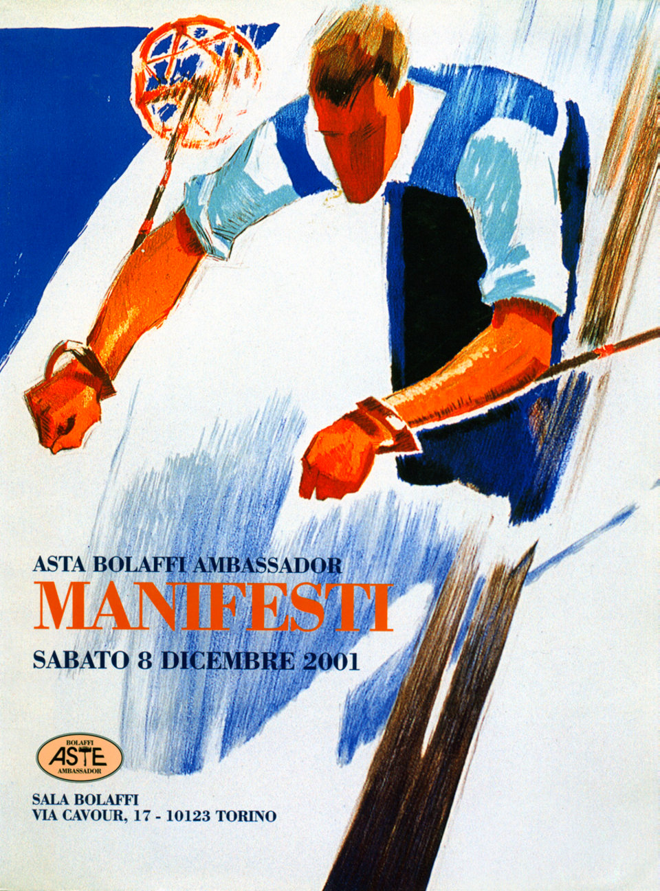 Asta Bolaffi Ambassador: Manifesti 2001 Italian Catalog