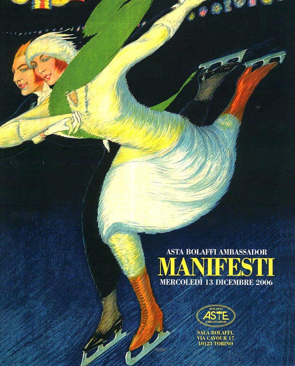 Asta Bolaffi Ambassador: Manifesti 2006 Italian Catalog