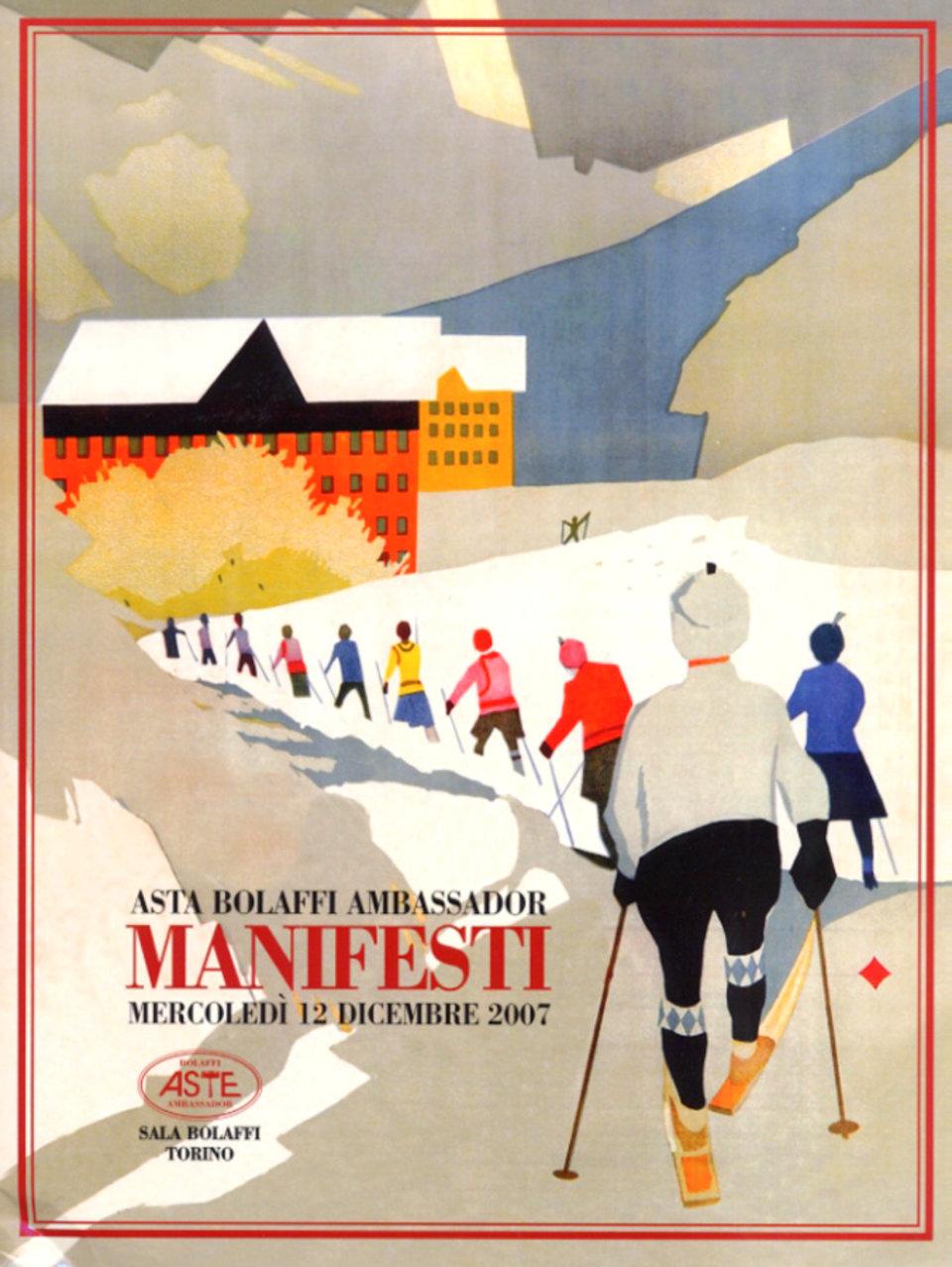 Asta Bolaffi Ambassador: Manifesti 2007 Italian Catalog