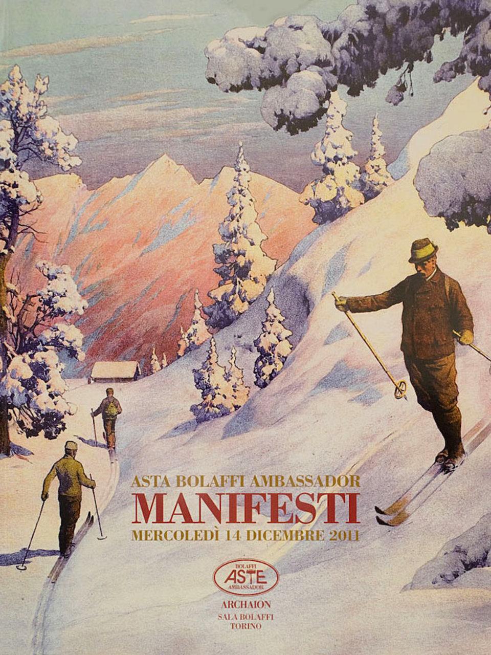 Asta Bolaffi Ambassador: Manifesti 2011 Italian Catalog