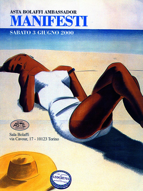 Asta Bolaffi Ambassador: Manifesti 2000 Italian Catalog