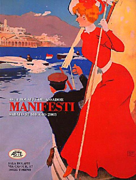 Asta Bolaffi Ambassador: Manifesti 2003 Italian Catalog