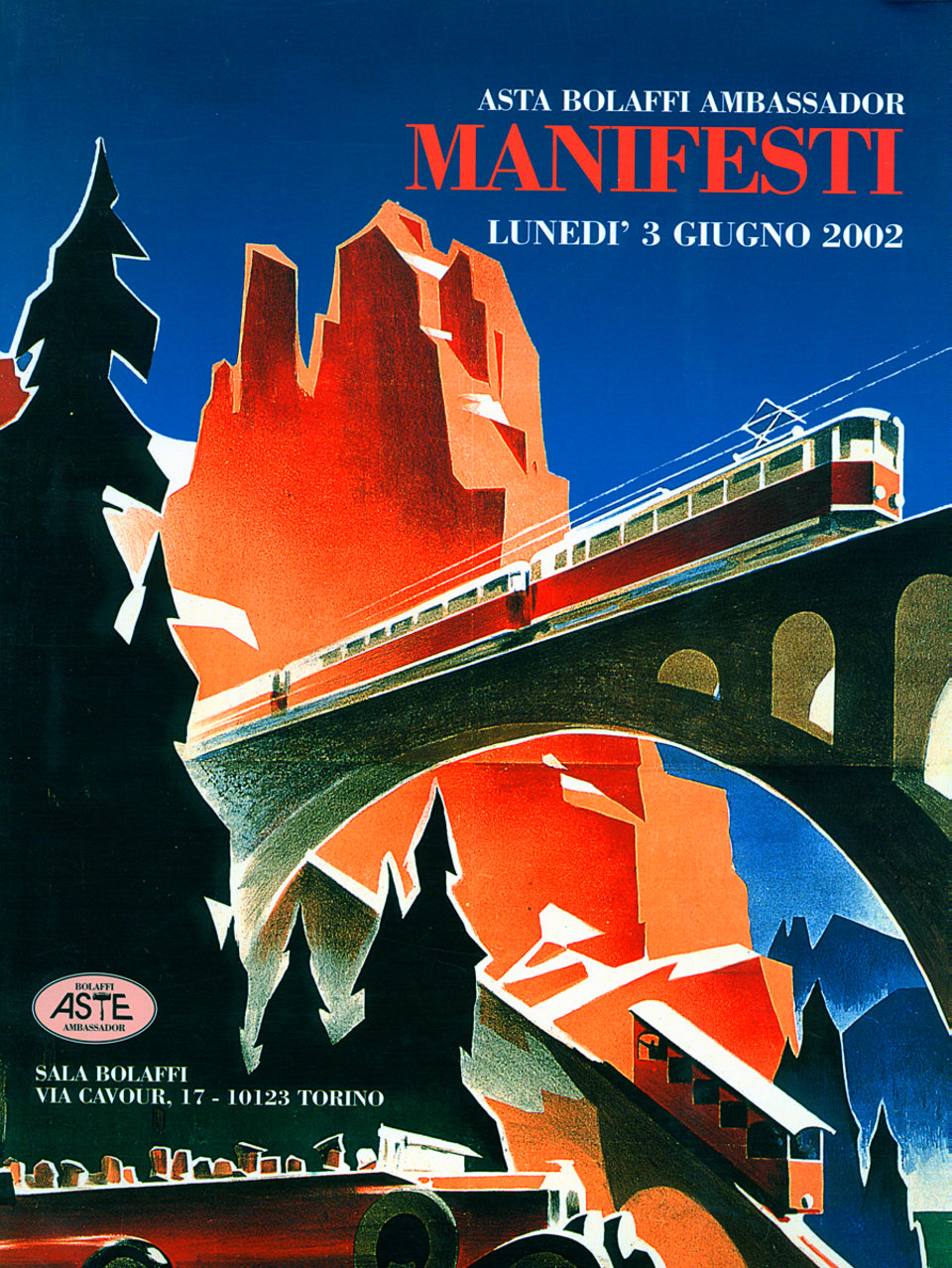 Asta Bolaffi Ambassador: Manifesti 2002 Italian Catalog