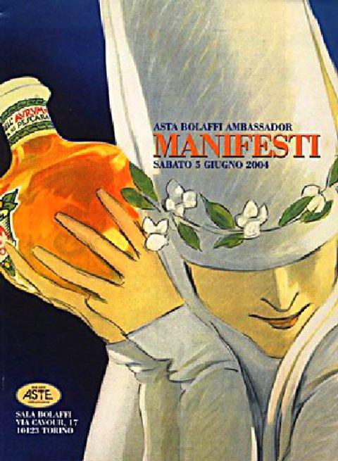 Asta Bolaffi Ambassador: Manifesti 2004 Italian Catalog