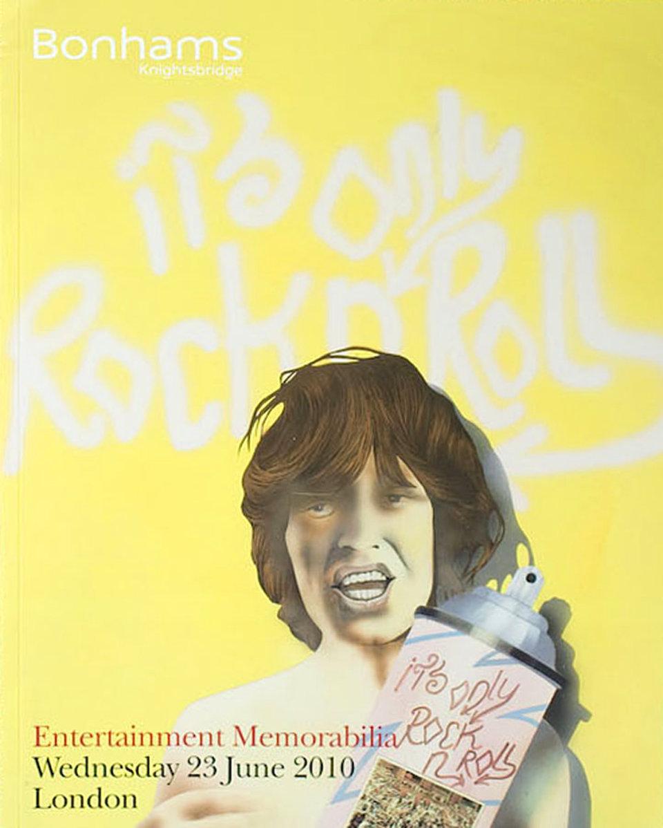 Bonhams London, Entertainment Memorabilia 2010 British Catalog
