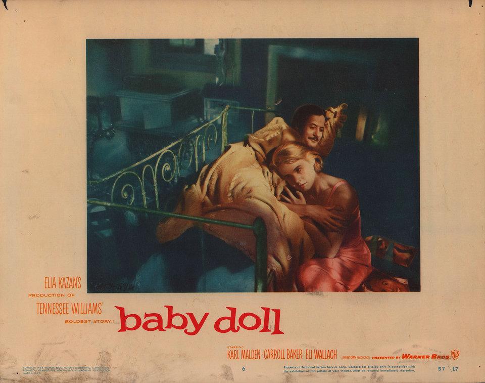 Baby Doll 1956 U.S. Scene Card