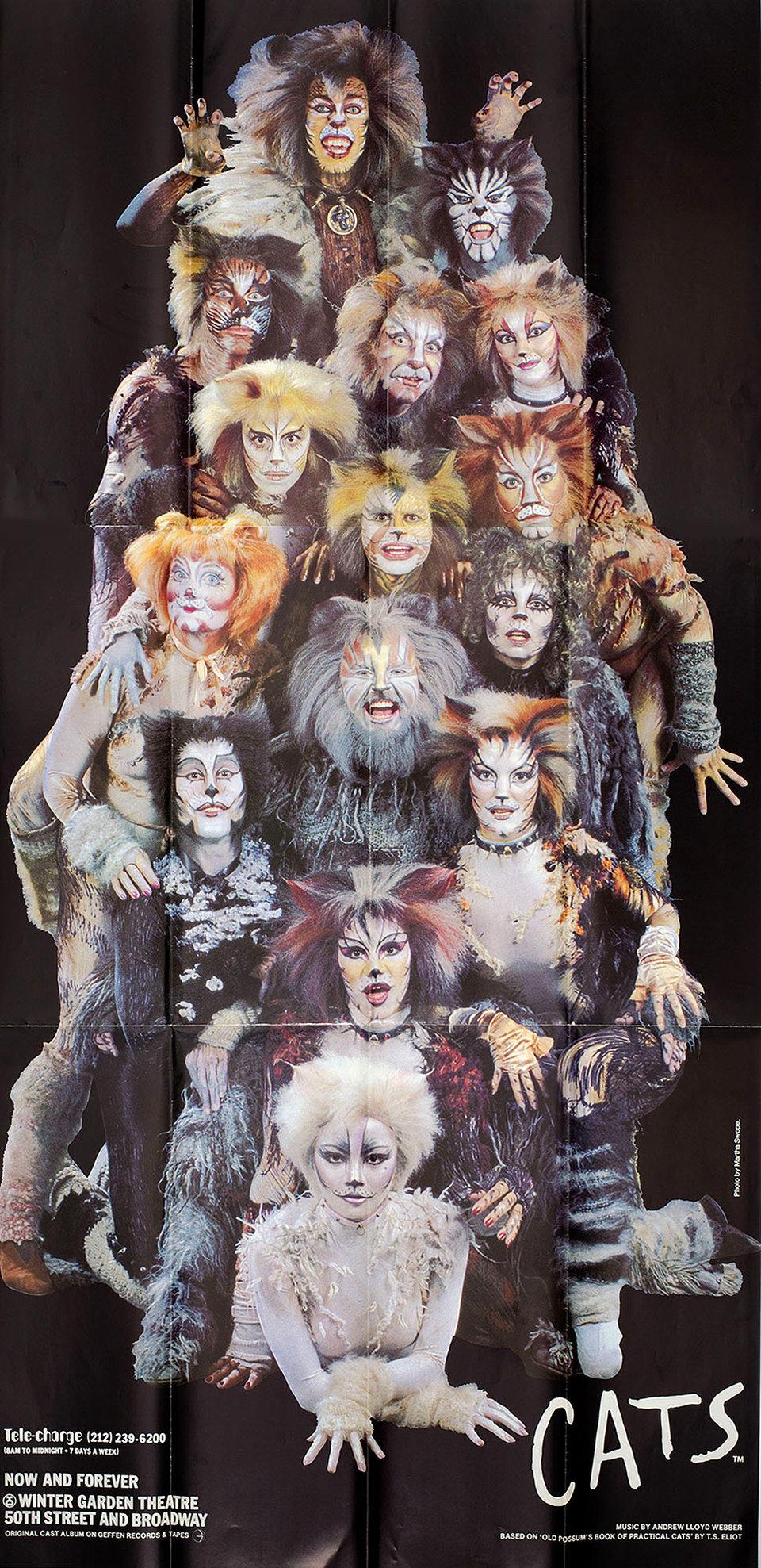 Cats 1980s U.S. Three Sheet Poster