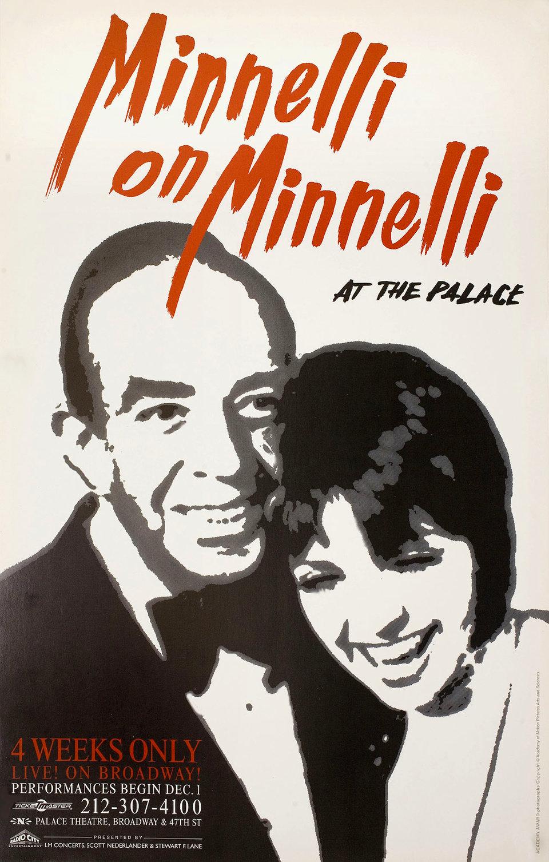 Minnelli on Minnelli 1999 U.S. Window Card Poster