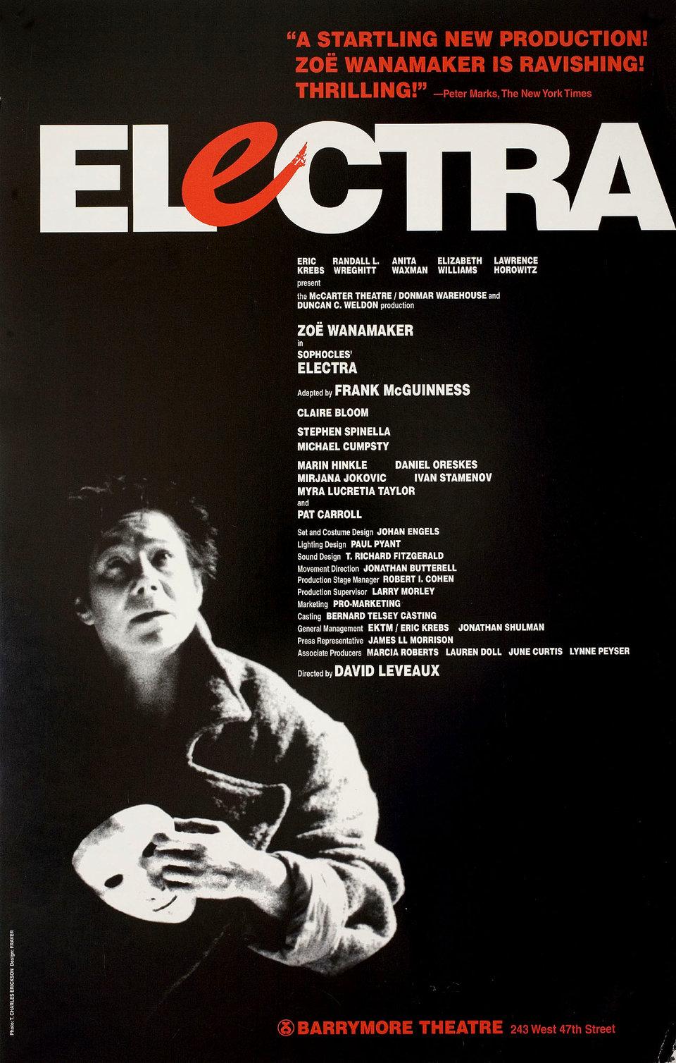 Electra 1998 U.S. Window Card Poster