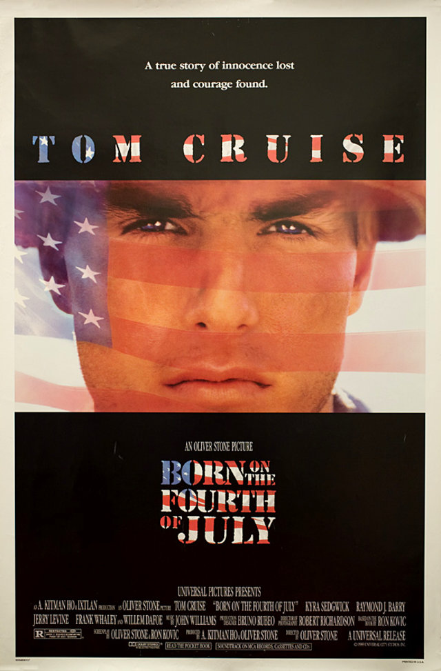 Born on the Fourth of July 1989 U.S. One Sheet Poster