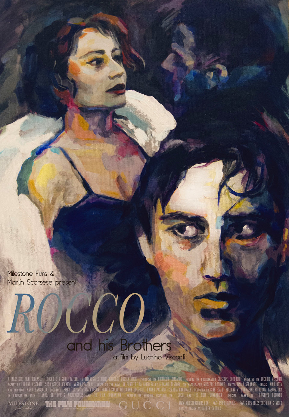 Rocco and His Brothers R2015 U.S. One Sheet Poster