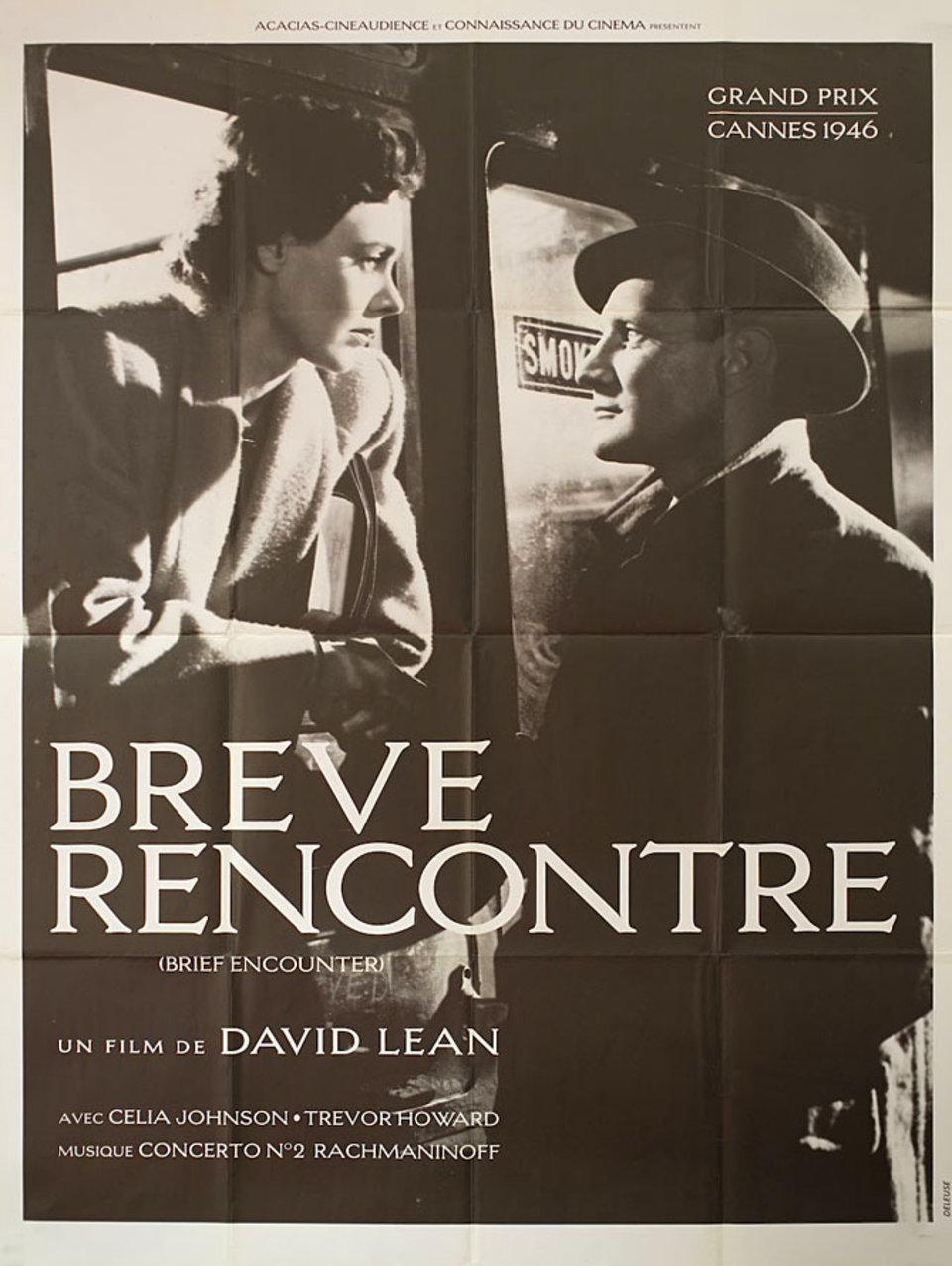 Brief Encounter R1980s French Grande Poster